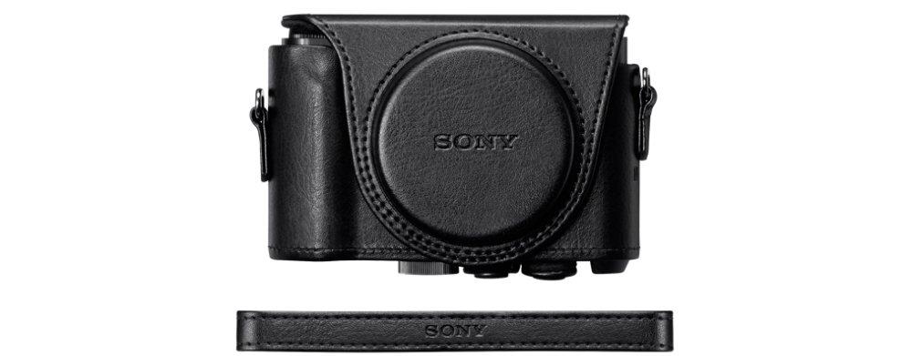 Sony LCJ-HWA Negro Bolsa a Medida para Cyber-Shot HX90//WX500