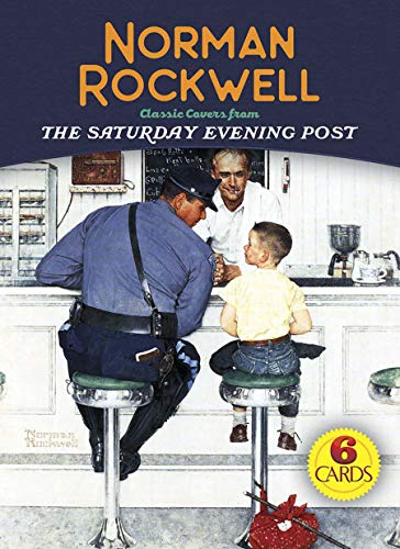 Norman Rockwell 6 Cards: Classic Covers from The Saturday Evening Post (Dover - Postcards Postcard Antique