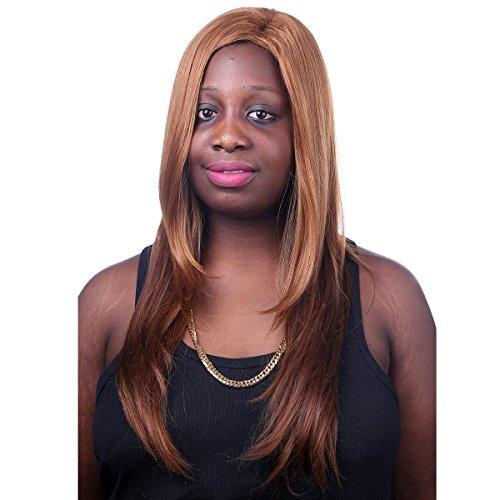 Price comparison product image Blonde Mixed Hair Wigs Cosplay Ta75 2017 Nuevas Mujeres Largas Rectas De Color Mezclado Peluca De Pelo Machine Made Wigs