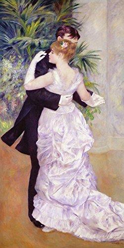 Dance in The City, 1883 by Pierre-Auguste Renoir Art Print, 19 x 38 - Dance Renoir