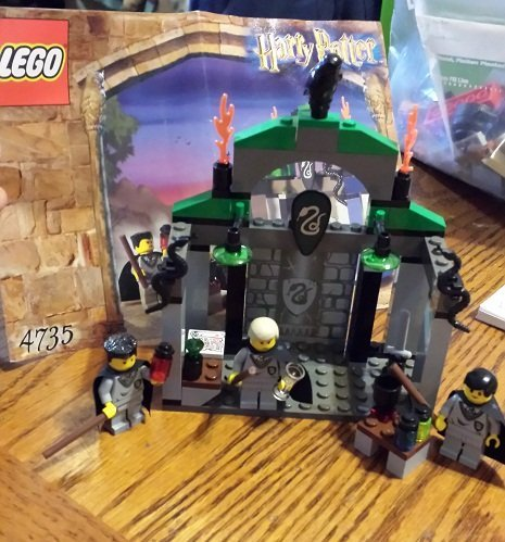 Harry Potter Lego Slytherin