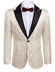 Men's Floral Stylish Dinner Jacket