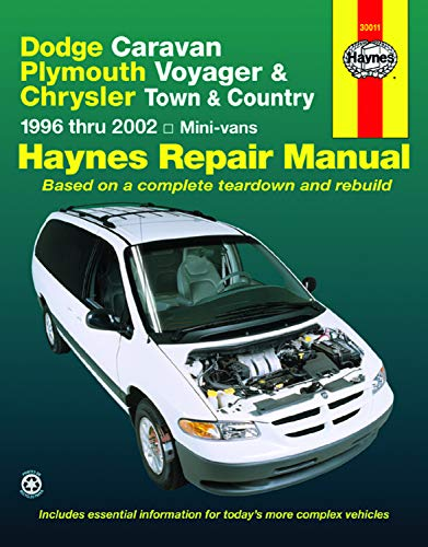 Dodge Caravan/Plymouth Voyager/Chrysler Town & Country 96-02 (Haynes Repair - Dodge Manual Caravan