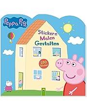 Peppa Pig Stickern Malen Gestalten: 250 Sticker