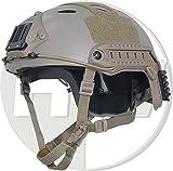 ops core fast carbon helmet - AIRSOFT CARBON PJ TYPE OPS CORE FAST BASE JUMP HELMET TAN SAND DE WITH ARC RAILS @ HELMET WORLD