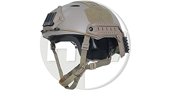 Tactical Area Casco r/ápido Airsoft Mich 2000 con Soporte y Gafas NVG.