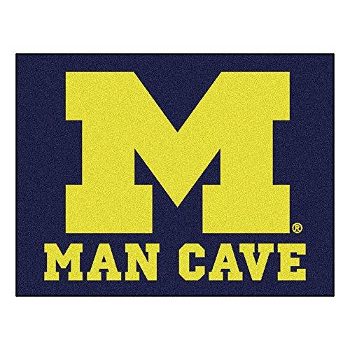 - FANMATS 14669 University of Michigan Nylon Universal Man Cave All-Star Mat