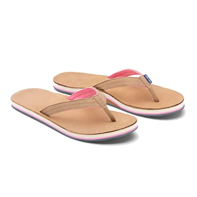 New Hari Mari Scouts Tan & Shell Pink 8 Womens Sandals