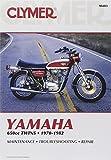 Clymer Yamaha 650cc Twins 70-82: Service, Repair, Maintenance