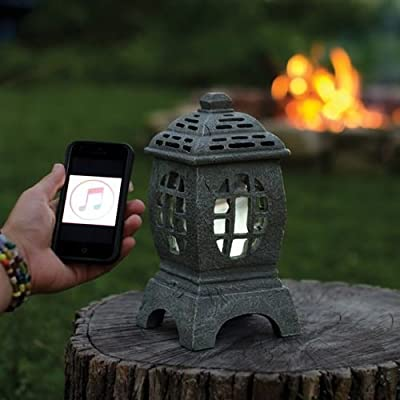 Pagoda Lantern Outdoor Bluetooth Speaker
