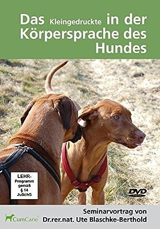 Berühmt Das Kleingedruckte in der Körpersprache des Hundes 2 DVDs: Amazon &GY_69