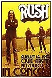 AQUARIUS Rush Concert Poster Print, 24 by 36-Inch