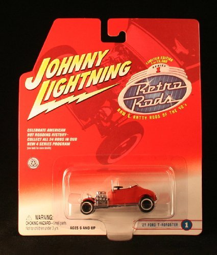 EMPEROR #6 * GRAY * 2002 Johnny Lightning RETRO RODS Series 1 Limited Edition Die Cast Vehicle * 1 of only 15,000 ()