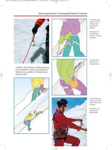 Hochtouren - Eisklettern: Alpin-Lehrplan 3