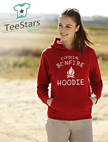 TeeStars-Funny-Camping-Gift-Idea-Official-Bonfire-Women-Hoodie