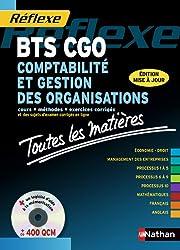 Toutes les matières - Comptabilité et gestion des organisations - BTS CGO