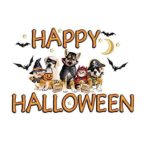 Happy Halloween Animal Garage Door (Happy Halloween Garage Door Magnets)