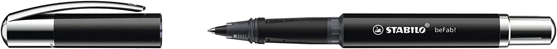 L/ápiz individual color Negro Incluye cartucho Stabilo beFab Uni Colors