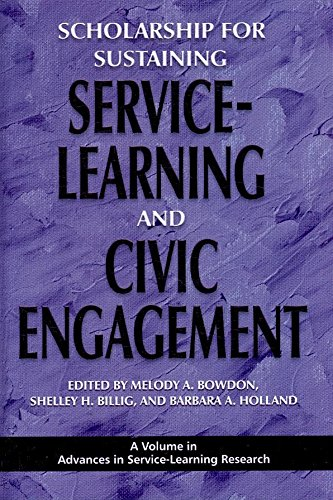 [Scholarship for Sustaining Service-learning and Civic Engagement] (By: Melody A. Bowdon) [published: January, 2009]