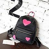 DDLBiz Fashion Backpack Women Schoolbag Back Pack Travel Bags School Girls (Hot Pink)