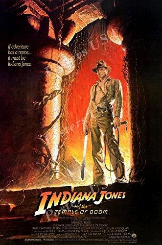 Posters USA - Indiana Jones and the Temple of Doom Movie Poster GLOSSY FINISH - MOV059 (24