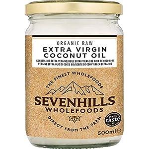 Sevenhills Wholefoods Crudo Vergine Extra Olio Di Cocco Bio, Spremuto A Freddo 500ml 10 spesavip