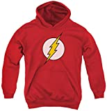 Youth Hoodie: DC Comics - Flash Logo Pullover Hoodie Size YM