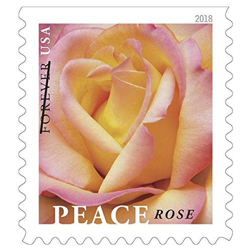 평화 로즈 USPS Forever Stamp/Peace Rose USPS Forever S..