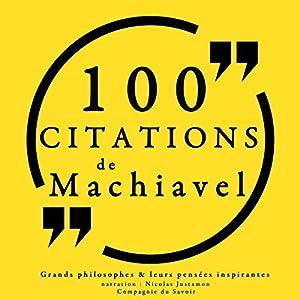 100 citations de Machiavel | Livre audio