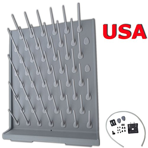 - Brand New Lab Supply Wall Desk Drying Rack 52 Pegs Education&lab Science Use