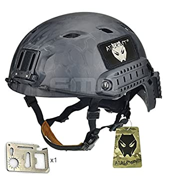 worldsho pping4u ajustable Bj tipo Base para airsoft paintball rápido casco ABS Jump, color -