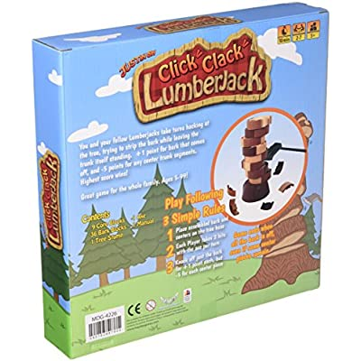 Click Clack Lumberjack Revised Edition Board Game: Toys & Games