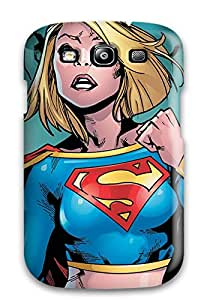 Galaxy High Quality Tpu Case/ Super Girl UHgobdt13053ZSVoW Case Cover For Galaxy S3