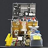 ⛵ SYYP/Industrial Chemical Glassware Complete Set of Laboratory Equipment Toolbox Teaching Props Laboratory Supplies Y0405