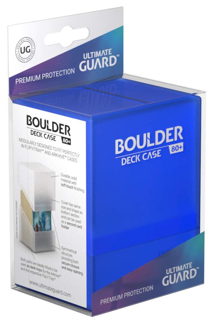 Misura Standard portacarte/Boulder Deck Case Ultimate Guard 80/Plus Colore Ametista
