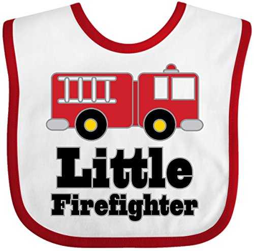 irefighter Fire Engine Baby Bib White/Red ()