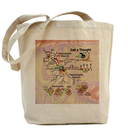 CafePress–neuronal igniciones–Gamuza de bolsa de lona bolsa, bolsa de la compra
