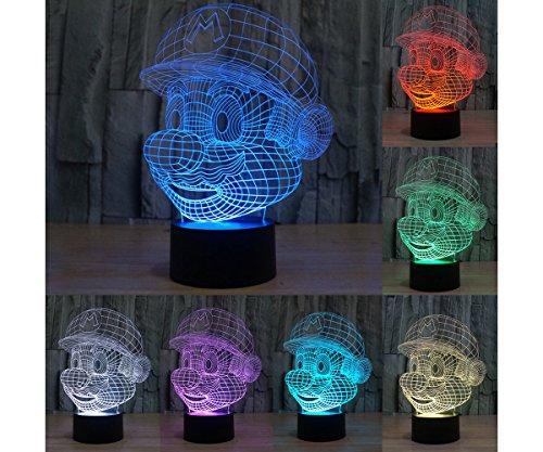 Led Light Glass Table - 9