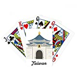beatChong Taiwan Travel Chiang Kai-shek Memorial Hall Poker Playing Card Tabletop Board Game Gift