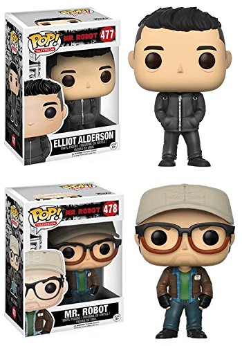 Funko POP! Mr Robot Elliot Alderson + Mr Robot – Stylized Vinyl Figure NEW