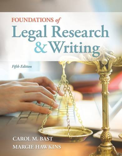 Foundations Of Legal Res.+Writing