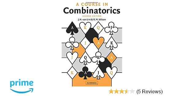 A course in combinatorics j h van lint r m wilson a course in combinatorics j h van lint r m wilson 9780521006019 amazon books fandeluxe Choice Image