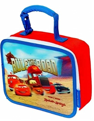 Disney Cars 3D Lunchbox Rule The Road Lunch Box Insulated Bag Snack Tote