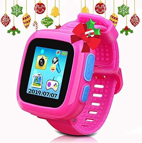DUIWOIM Kids Game Smartwatch Digital Smart Watches Photo Sticker Camera Mini Games Alarm Clock Timer Health Monitor Pedometer Birthday Gifts for Boys ...