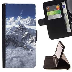 Momo Phone Case / Flip Funda de Cuero Case Cover - Mont Blanc;;;;;;;; - Sony Xperia Style T3