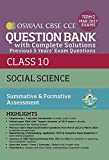 Oswaal CBSE CCE Question Bank with Complete Solutions for Class 10 Term II (October to March 2017) Social Science