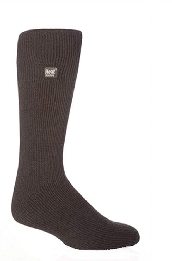 1 Pair Mens GENUINE Original BIGFOOT Thermal Winter Warm Heat Holders Socks size 12-14 uk Charcoal