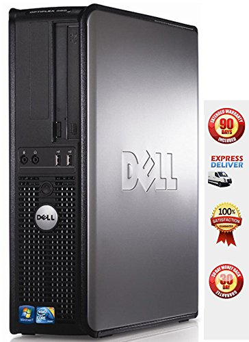 Dell OptiPlex Intel Core 2 Duo 1800 MHz, 80Gig Serial ATA HDD, New 4GB Memory, DVD ROM Genuine Windows 7 Pro x64 - (Certified Reconditioned)