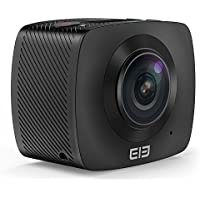 LeaningTech VR 360 Degree F2.0 Dual Lens 1080P Panoramic Sport Action Camera Spherical Cam Digital Camera Virtual Reality Camera