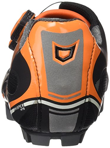 Montaña Negro Adulto Catlike Orange 2016 MTB 45 Zapatillas EU de Ciclismo de Whisper Black Unisex nqZ04U